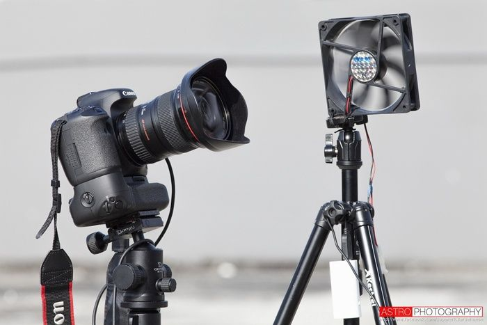 สร้างอุปกรณ์ไล่ฝ้าหน้ากล้องรับเทศกาลถ่าย Star Trails