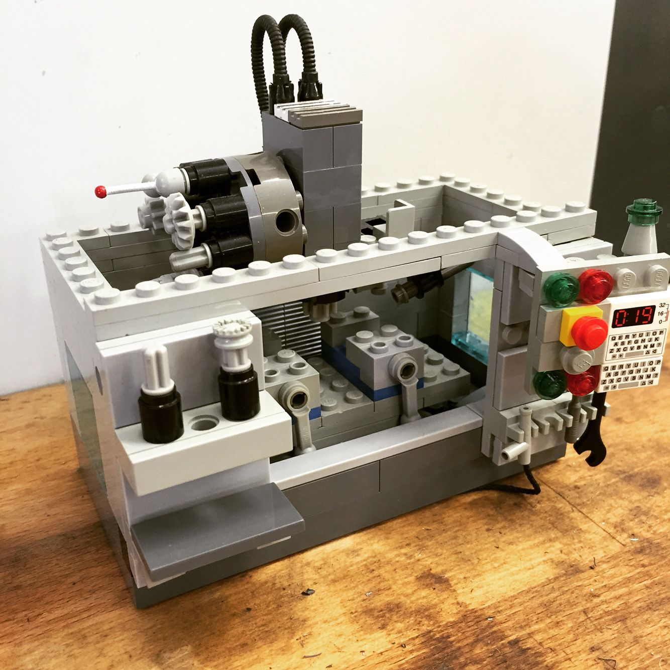Haas Cnc @tyson_lamb Built From Legos. Saw This On