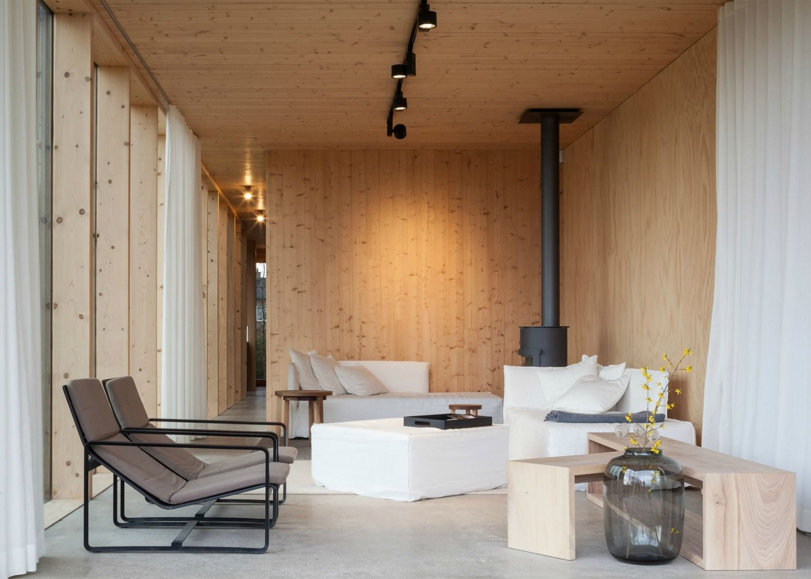 Ghent based Architecture studio GAFPA incorporated simple low cost