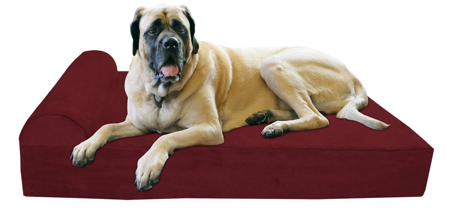Designer Dog Bed Big Barker 7 Pillow Top Orthopedic Dog