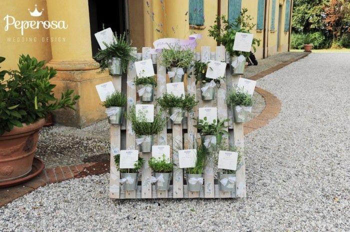 Risultati immagini per tableau mariage con piante aromatiche  57de3983126