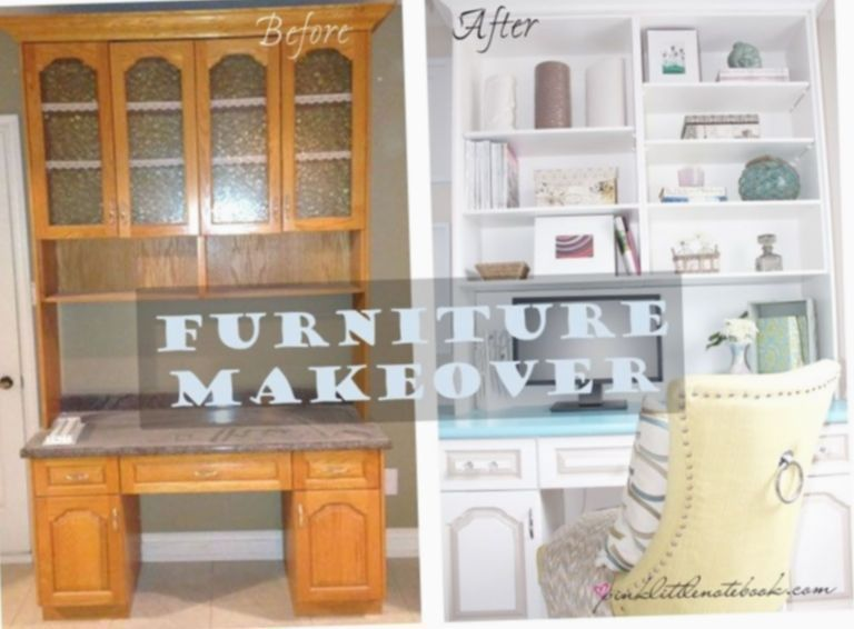 ✔ Office Desk Makeover Before After # Home office #inspohome #interiors#Writing desk #ho…, #Writing desk