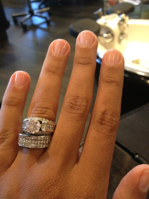 Delightful Tia Mowry Engagement Ring  Http://forum.purseblog.com/the Jewelry Box/celebrity Engagement Rings 73986 345.html  ...