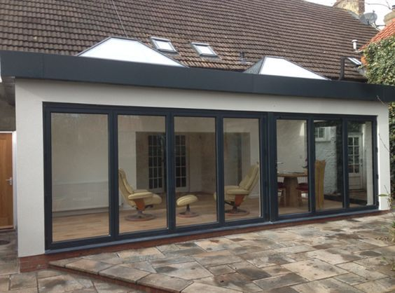 Image result for bungalow flat roof extension