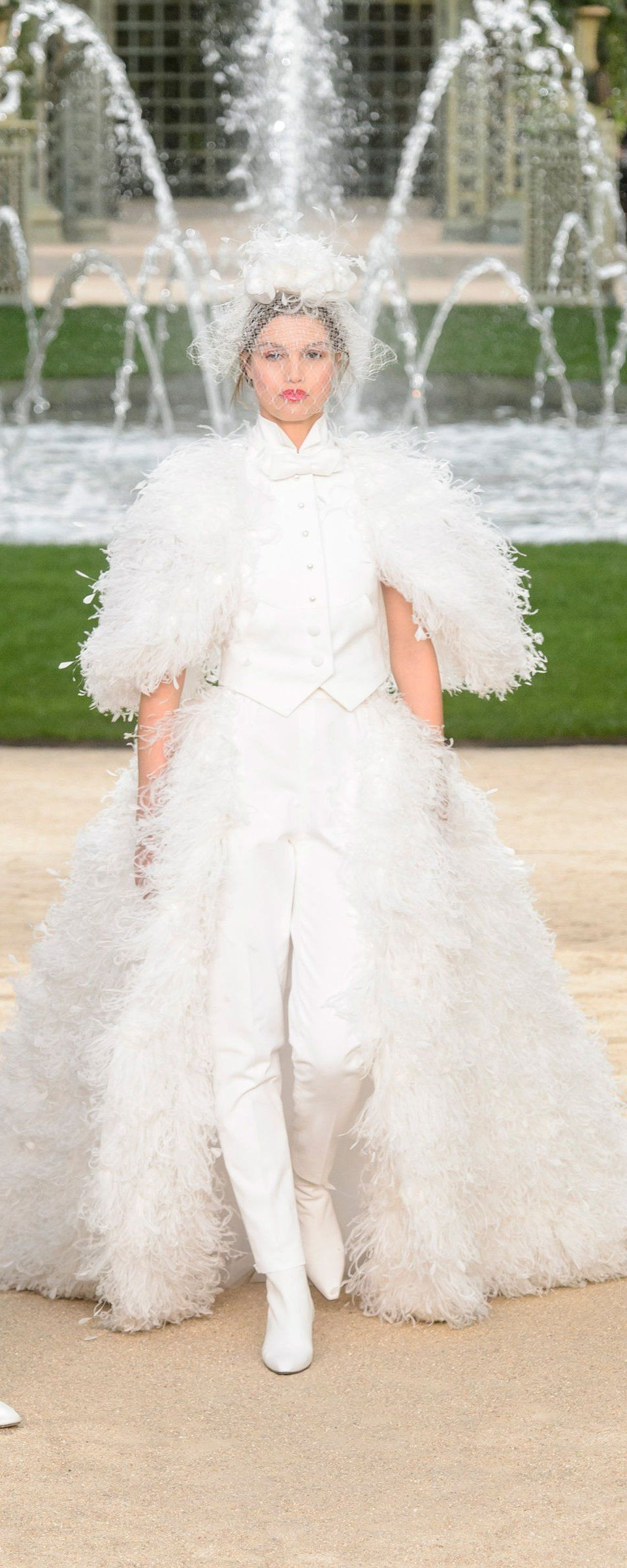 Chanel springsummer couture chanel spring couture and