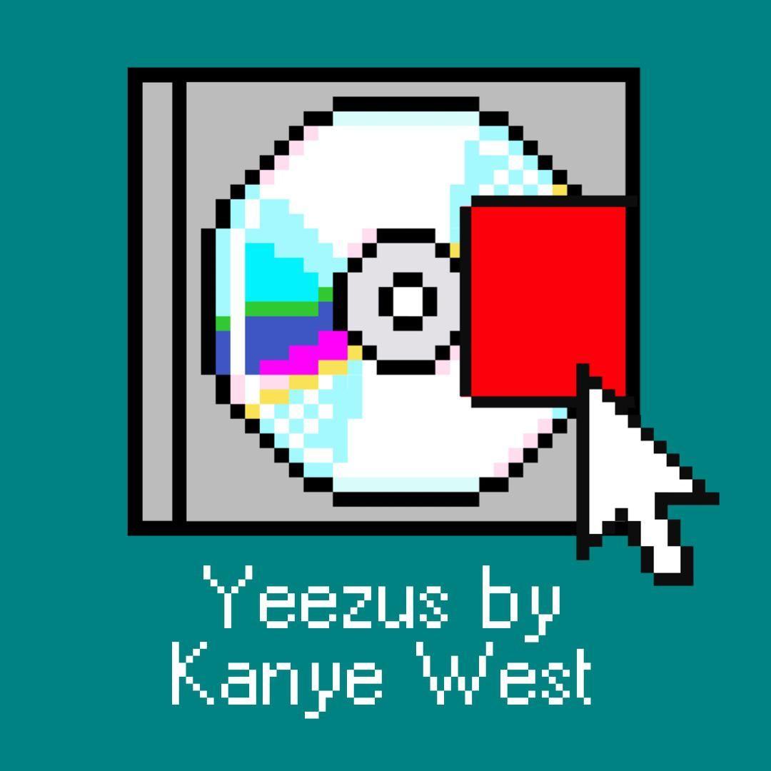 Yeezus By Kanye West In 2020 Yeezus Album Covers Kanye