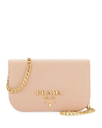 18aae1e0 V3MA4 Prada Small Curved Flap Mini Crossbody Bag | Prada in 2019 ...