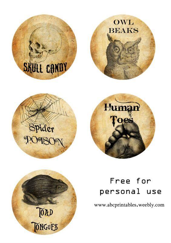 Pin von Cloud Borden auf Witchy labels for home | Pinterest