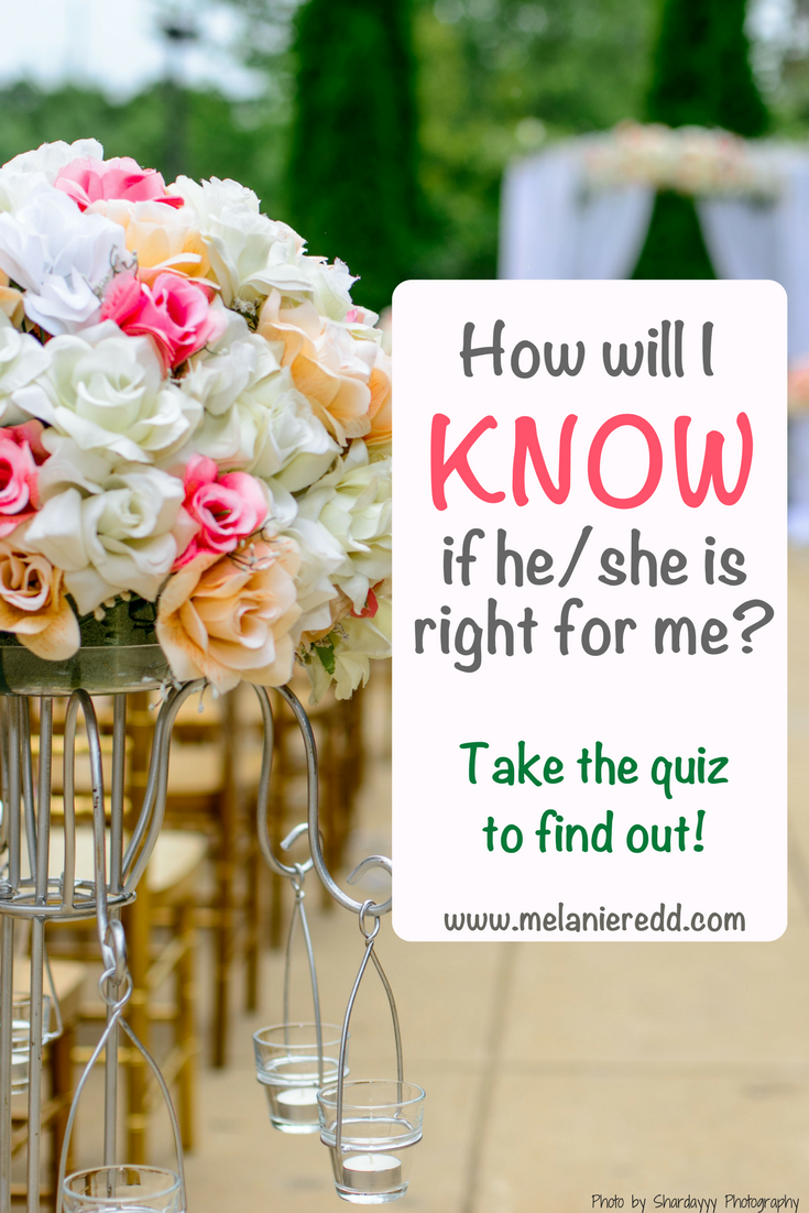 how to know if he is the right one quiz