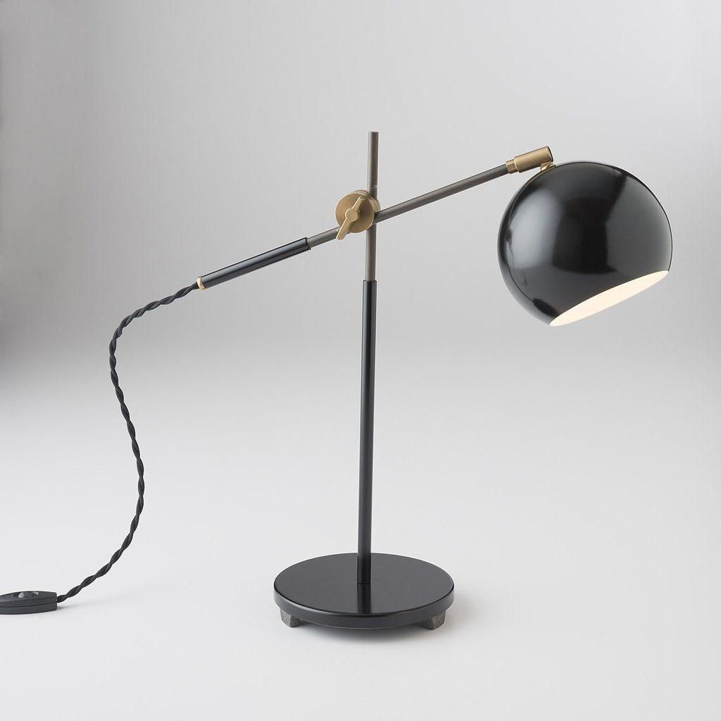 Studio desk lamp factory black desklamps wooden lamps in