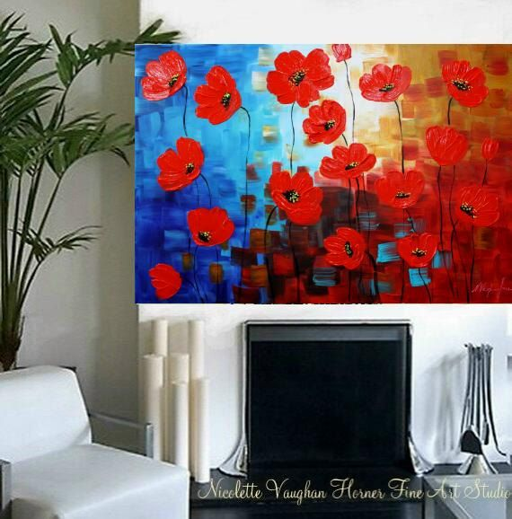 Hey, I found this really awesome Etsy listing at https://www.etsy.com/au/listing/239668977/enormous-original-modern-palette-knife