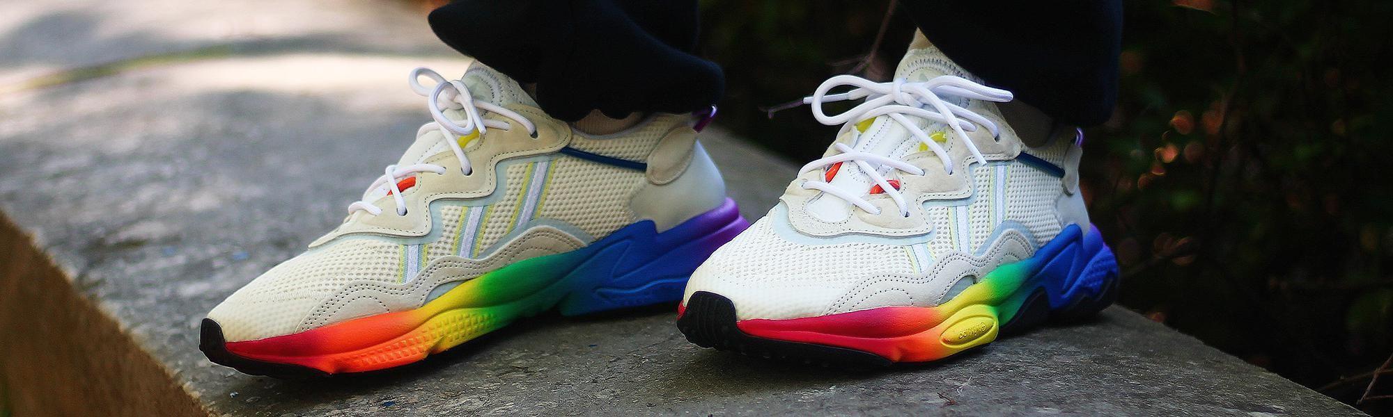 Adidas Ozweego Pride Love Unites Beige Multicolor Après ...