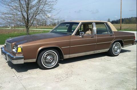 1985 Buick Lesabre Limited 4 Door Sedan Buick Lesabre Buick Buick Electra