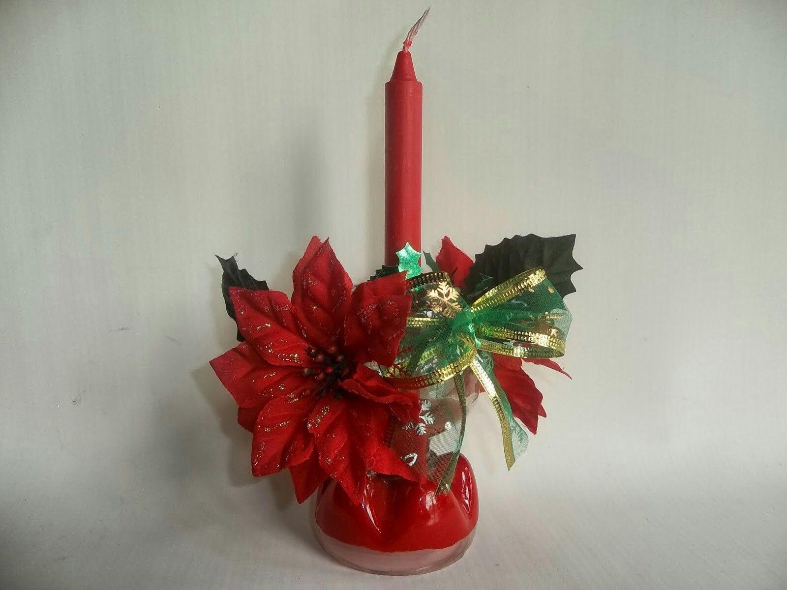 Arreglos de flores de goma eva adornos navide os for Arreglos navidenos para mesa
