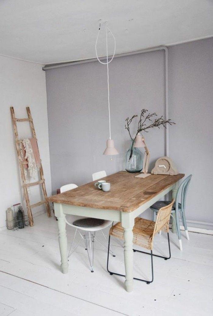 Nos astuces en photos pour peindre une pi ce en deux Astuce pour decaper un meuble en bois