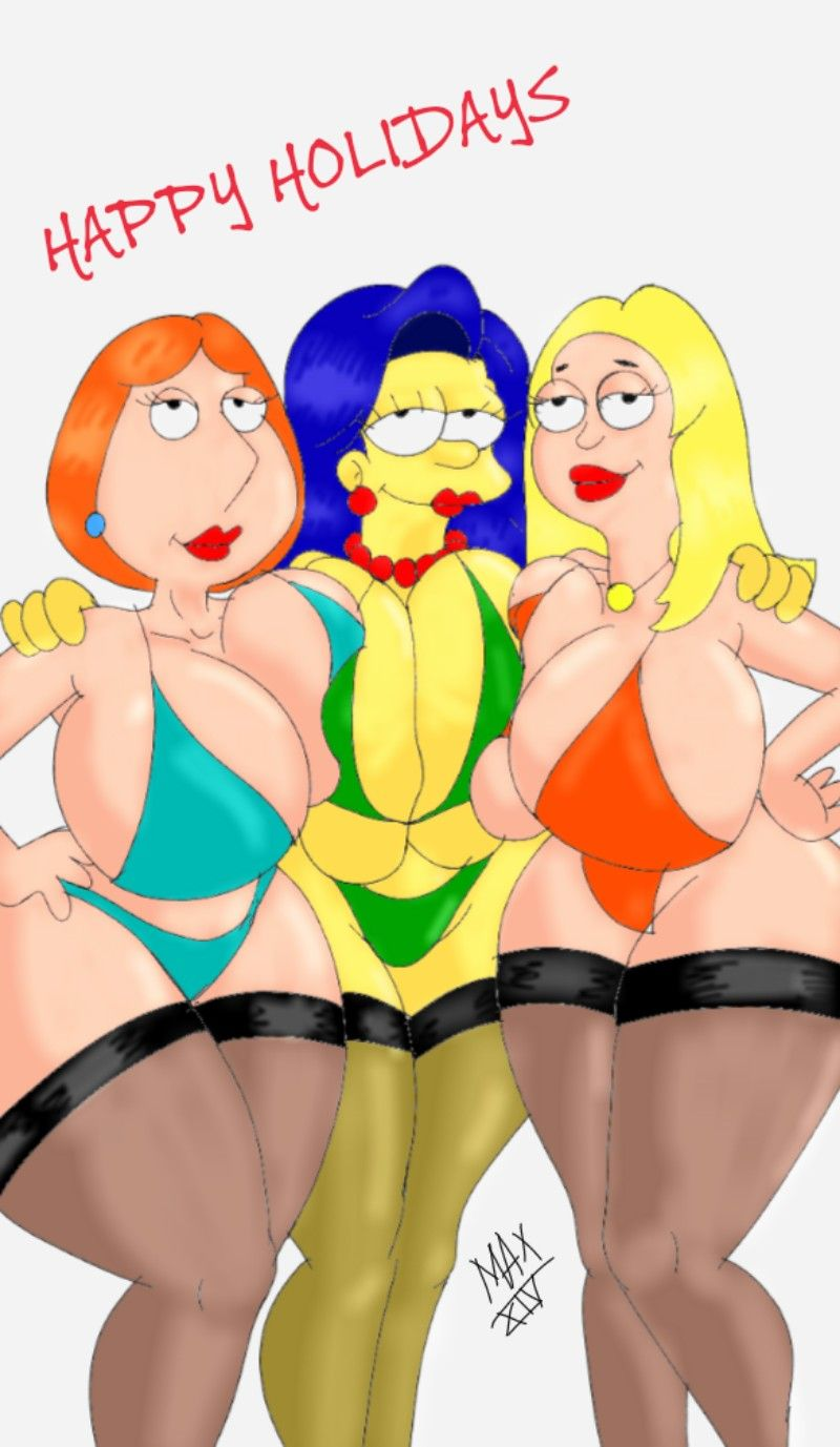 Lois Griffin Family Guy Marge Simpson The Simpsons Francine