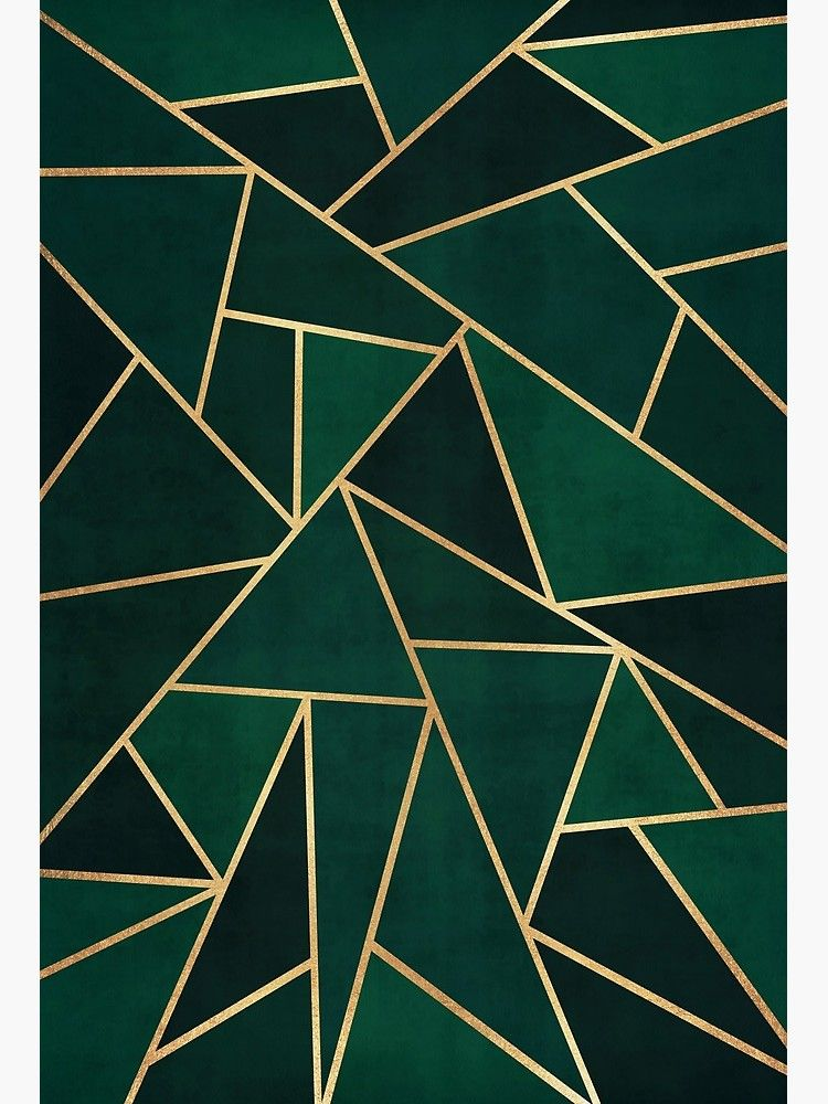 Green Gold Pattern Art Board Print By Bangint In 2020 Pattern Art Purple Wallpaper Iphone Gold Marble Wallpaper