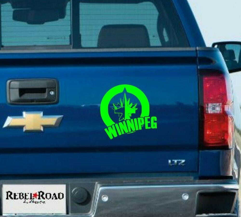 Winnipeg Jets Vinyl Decal Ebay Vinyl Decals Car Decals Vinyl Vinyl [ 901 x 1000 Pixel ]