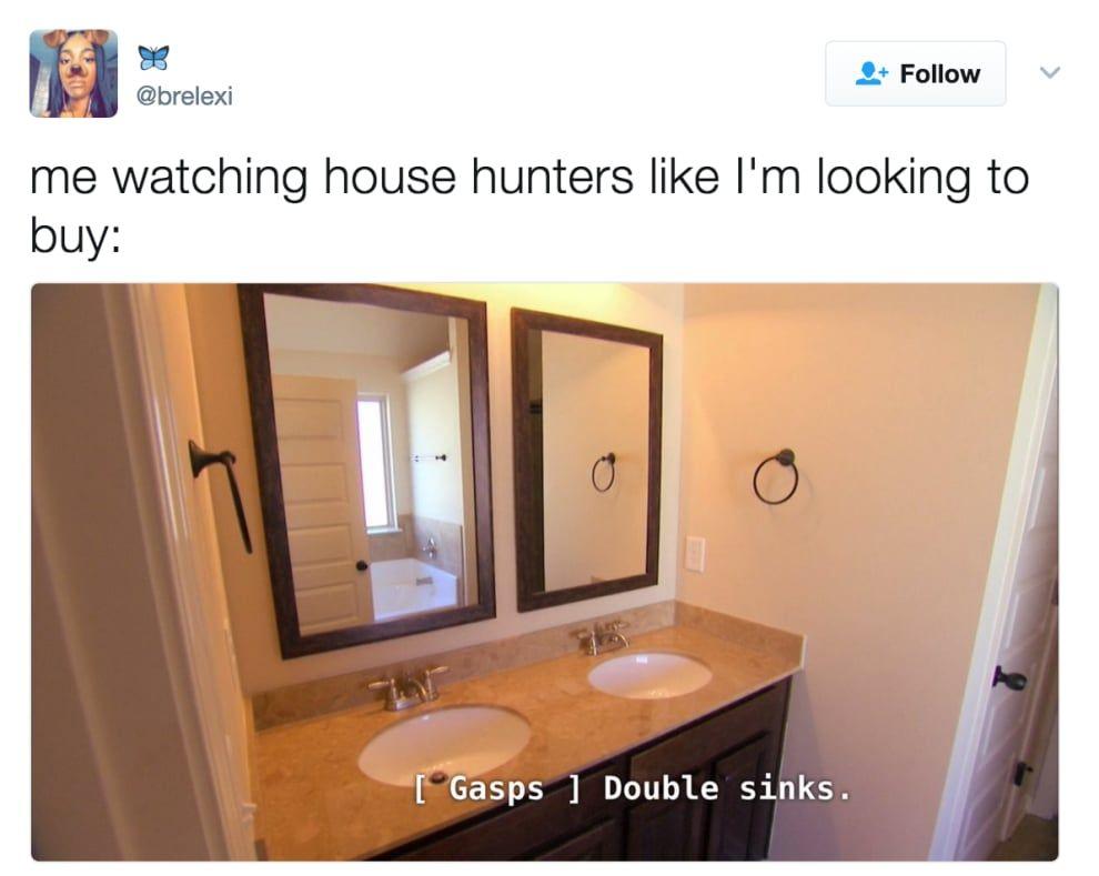 House Hunters Meme Stimulus