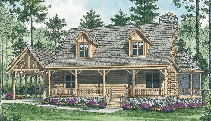 Beau House · House Plans | Living Concepts ...
