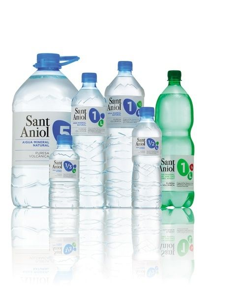 Sant Aniol Water Bottle Design