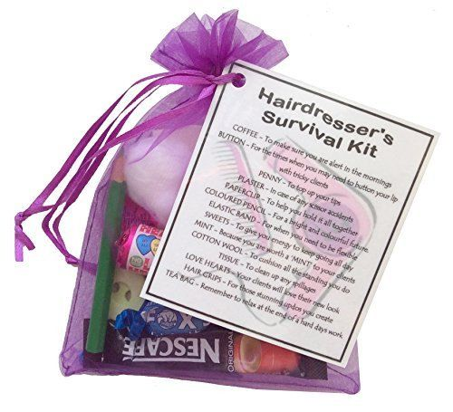 Unique Novelty Survival Kit: Surprise A Hairdresser With A Unique Novelty Gift. All