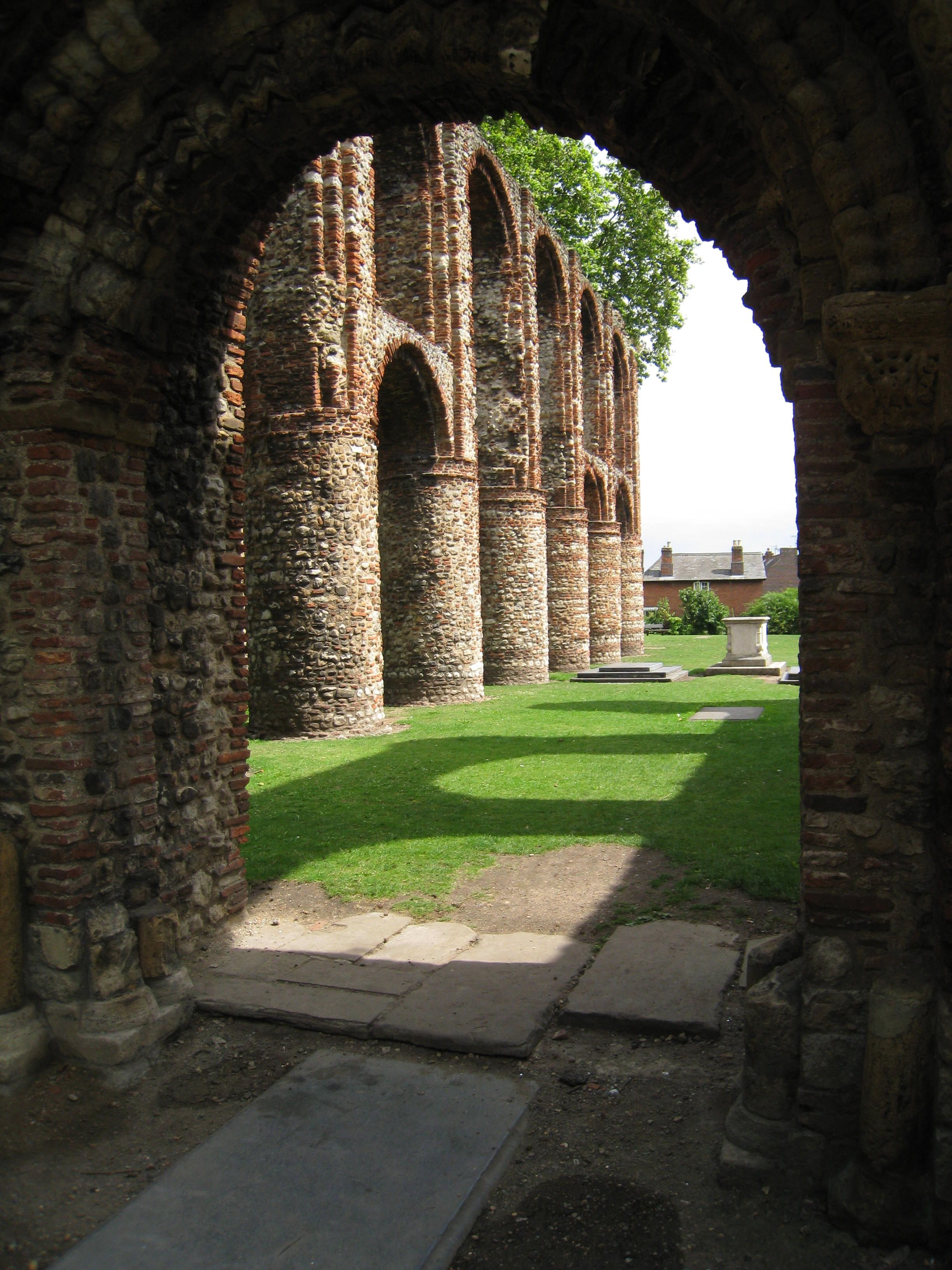 Arches in Colchester, England