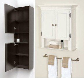 Exceptionnel Wall Mounted Bathroom Cabinets