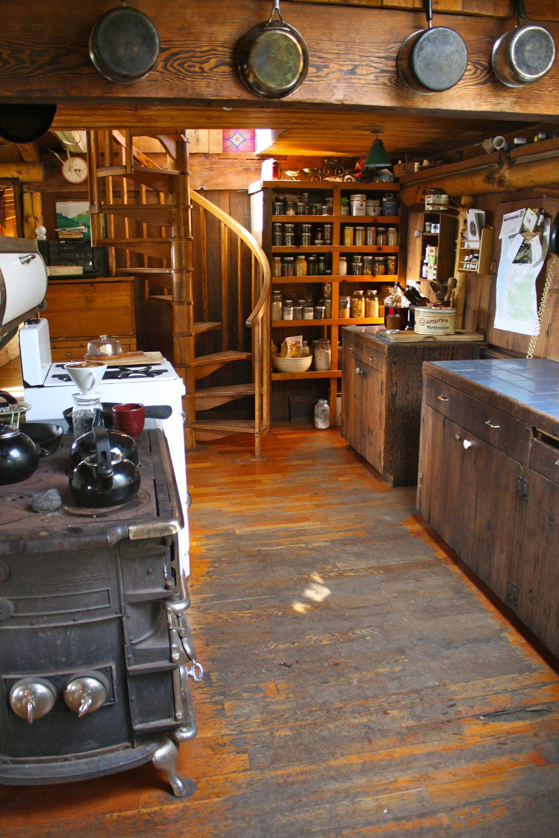Beautiful handmade off grid kitchen. | crap | Pinterest | Case di ...
