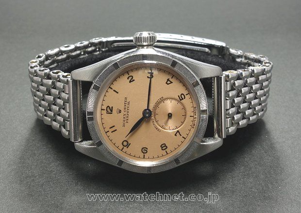 40s ROLEX OYSTER Bubble Back ss TYPE-AR