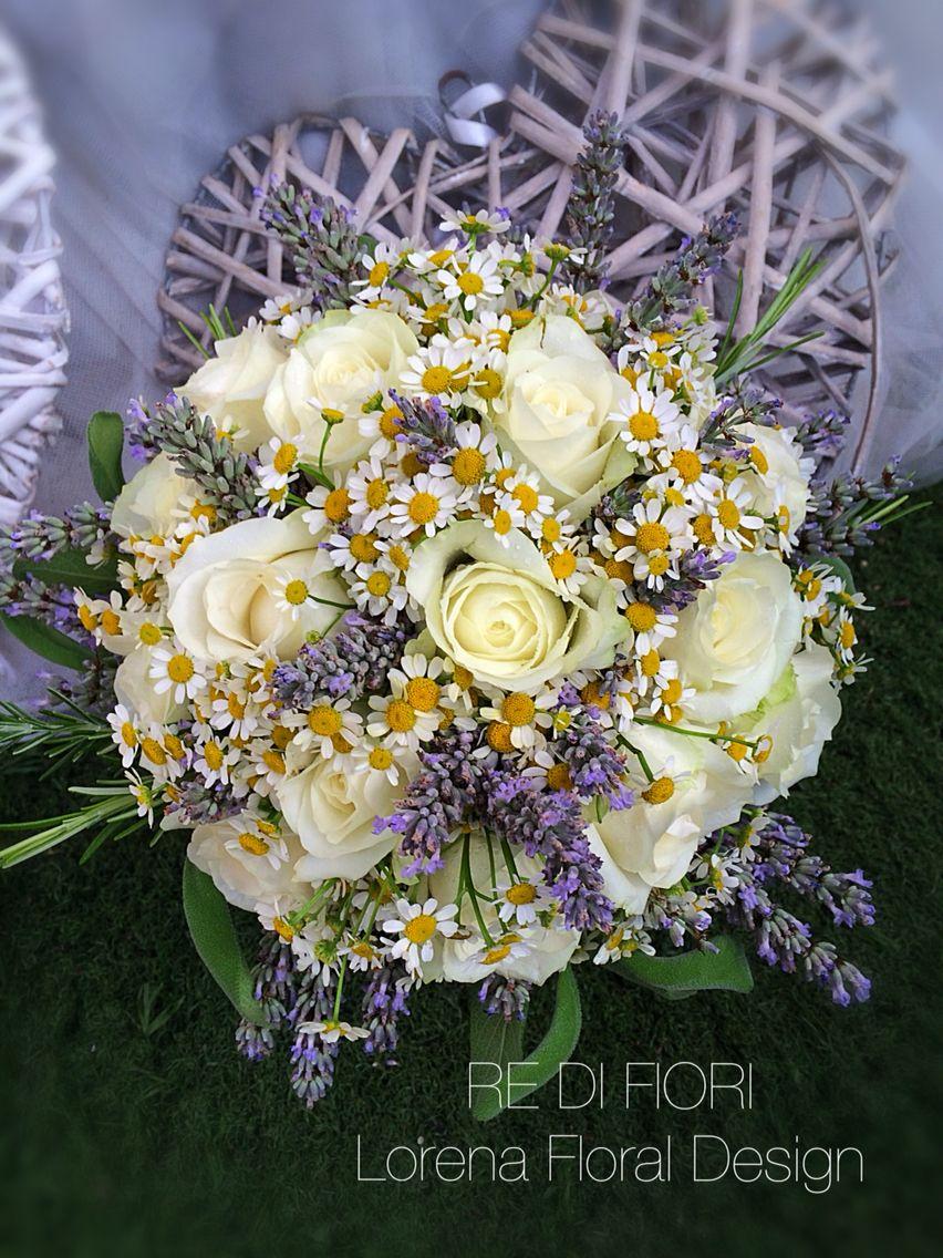 Bouquet Sposa Lavanda E Margherite.Pin Su Wildest Dreams
