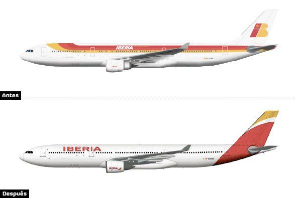 ¿Qué les pareció la nueva imagen de Iberia? Vía www.brandemia.org