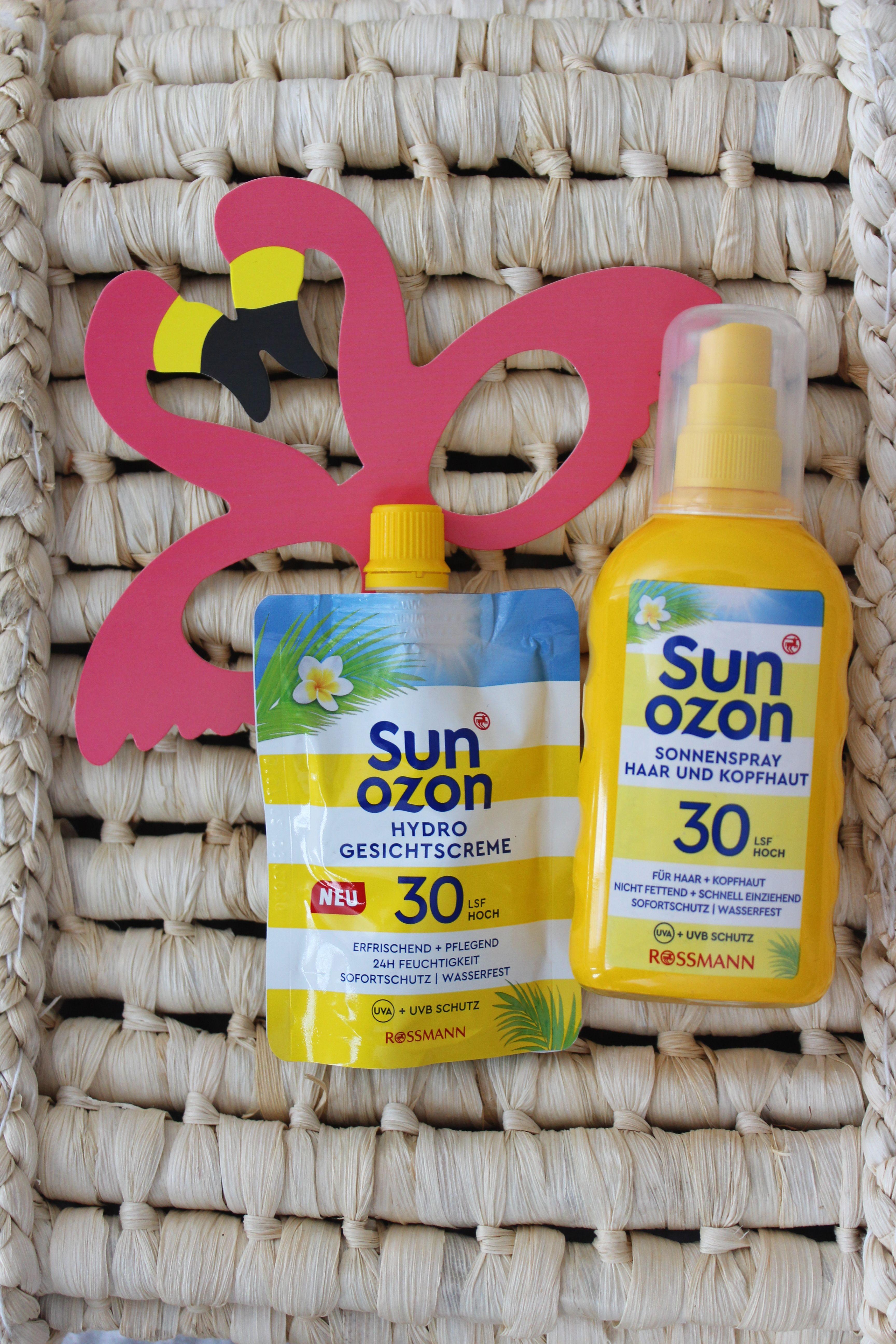 Preview Neues Bei Rossmann Von Sun Ozon Gesichtscreme Spray Tipps Und Tricks