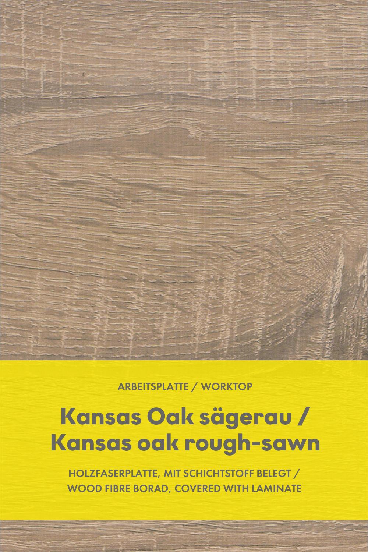 Kuchen Arbeitsplatte Kansas Oak Sagerau Kitchen Worktop Kansas Oak Rough Sawn In 2020 Open Plan Kitchen Compact Kitchen Kitchen Design