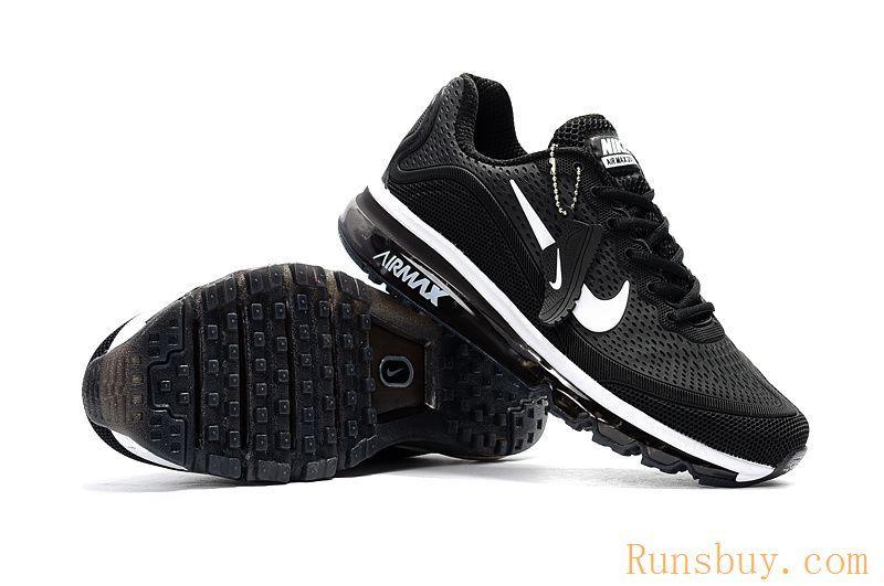 Footwear · New Coming Nike Air Max 2017 5Max KPU Black White Women Men