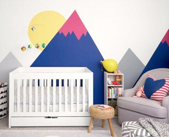 theme montagne chambre bebe   Baby   Pinterest   Bébé