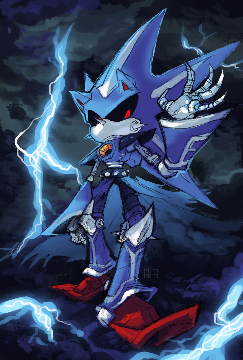 Wow Neo Metal Sonic Is Better And Stronger Looking Than Normal