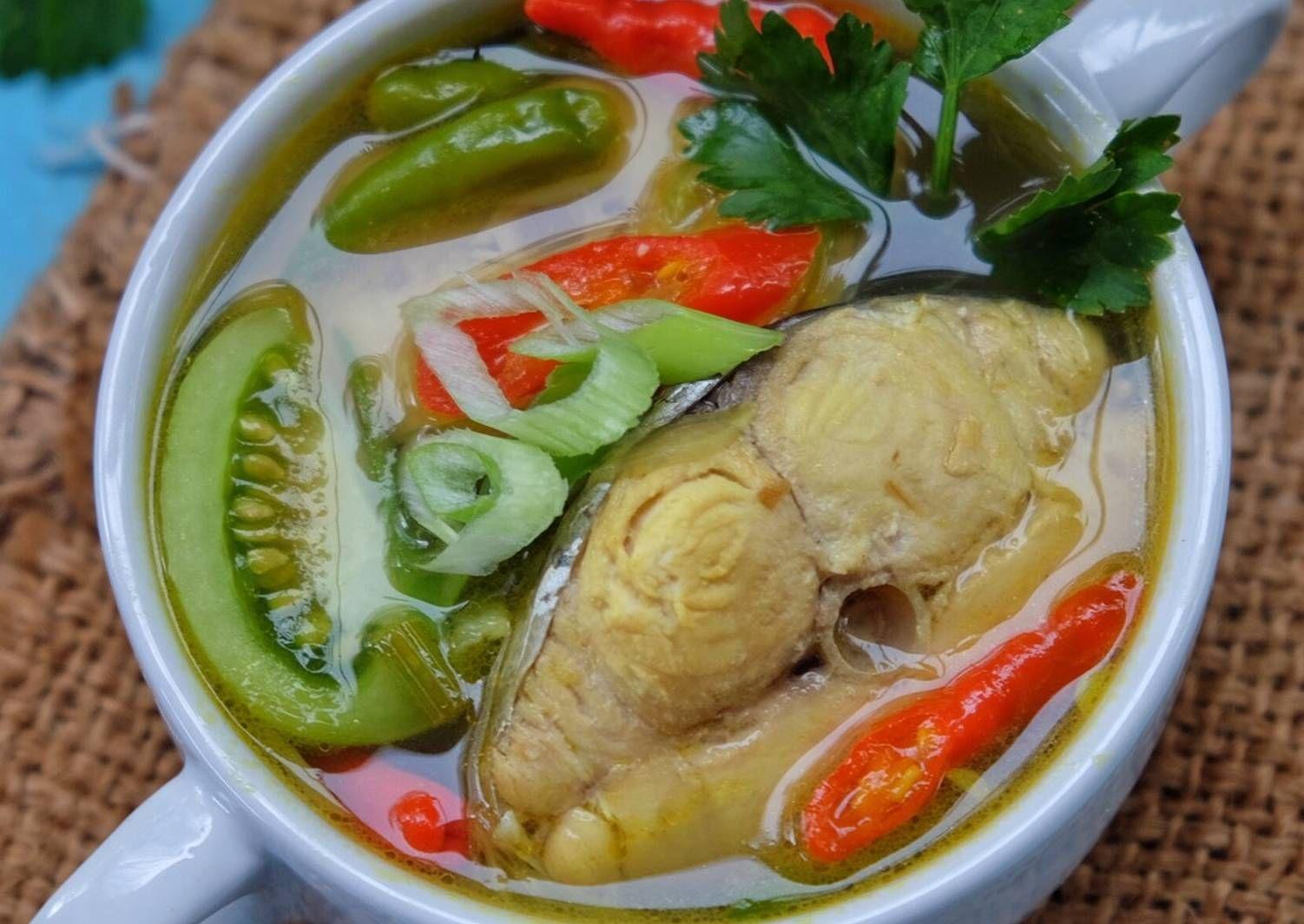 Resep Tenggiri Kuah Asam Pedas Oleh Susi Agung Resep Makanan Ikan Fotografi Makanan Saus Ikan