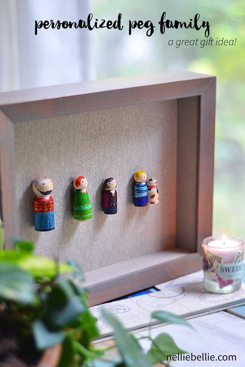 personalized family art-peg family via @huttonjanel