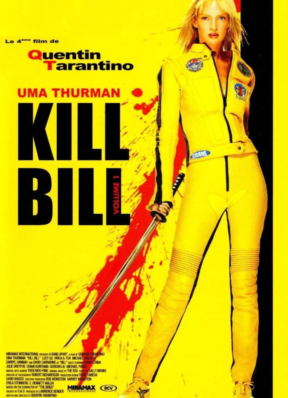Kill Bill Movie Poster In 2020 Kill Bill French Movie Posters Quentin Tarantino