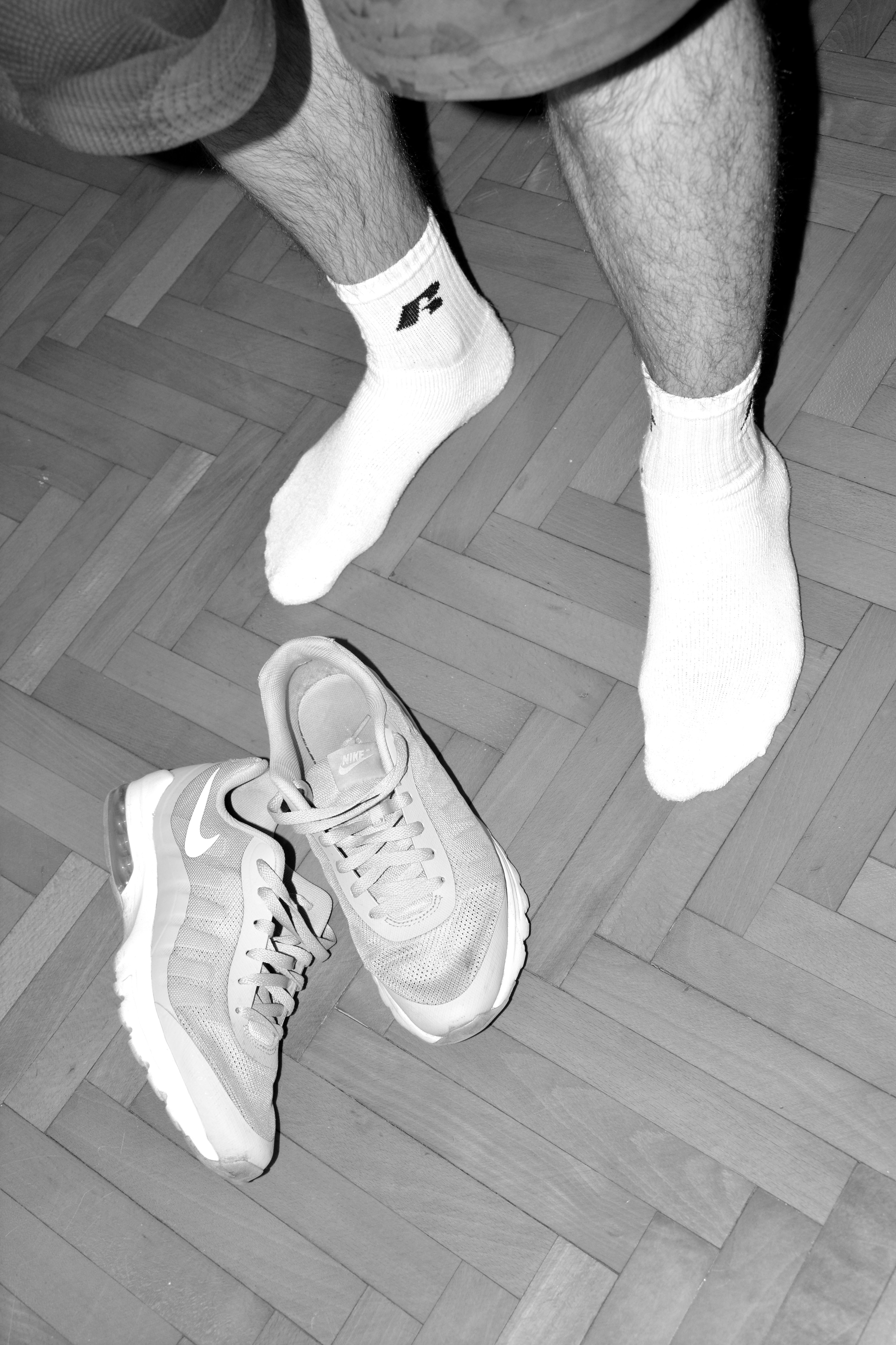 Shorts by Nike Socks by Russel Athletic Sneakers by Nike