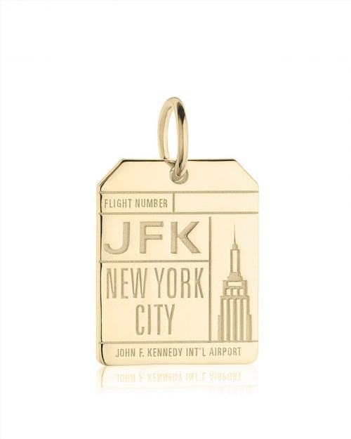 98.00$  Buy now - http://vihpy.justgood.pw/vig/item.php?t=ctwqik49284 - Jet Set Candy JFK New York Luggage Tag Charm 98.00$