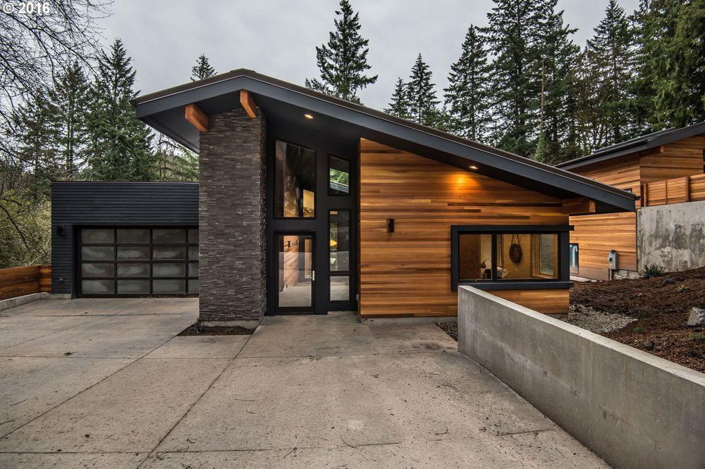 30+ Different West Coast Contemporary Home Exterior Designs ...