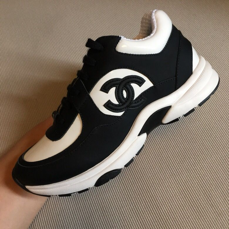Club | Chanel sneakers, Chanel shoes