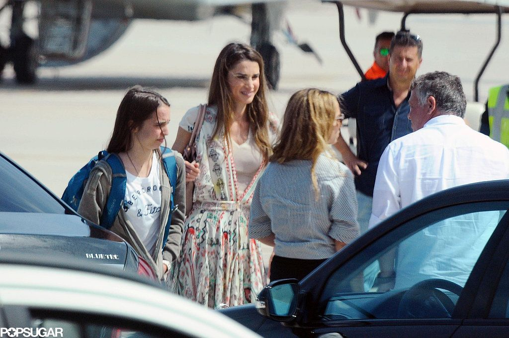 Queen Rania, vacation, summer 2015, Sardinia, Italy