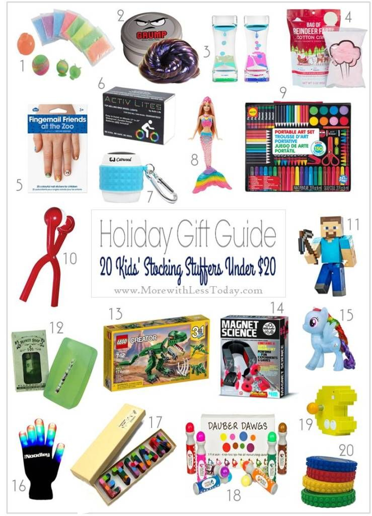 Stocking Stuffer Gifts Under 20 Inexpensive Gift Ideas For Kids