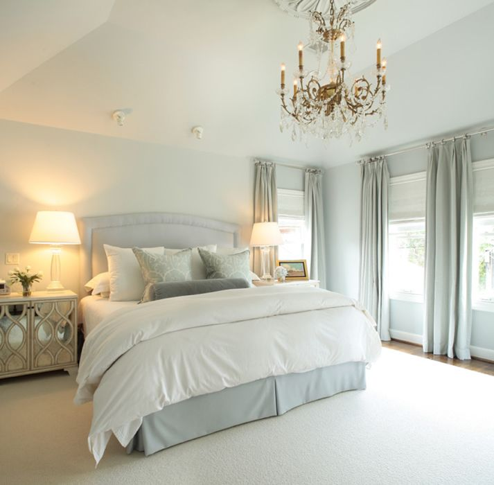 Ashley Goforth Design Portfolio Home Bedroom Blue Bedroom