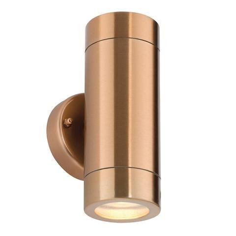 Copper Modern Up Down Wall Light Wall Lights Exterior Wall Light Up Down Wall Light