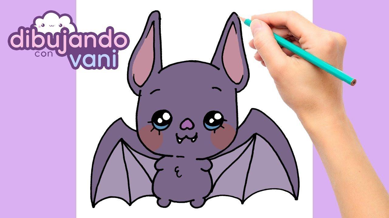 Como Dibujar Un Murcielago Paso A Paso Dibujos Para Dibujar Dibujos Como Dibujar Un Murcielago Dibujos De Halloween Dibujo Paso A Paso
