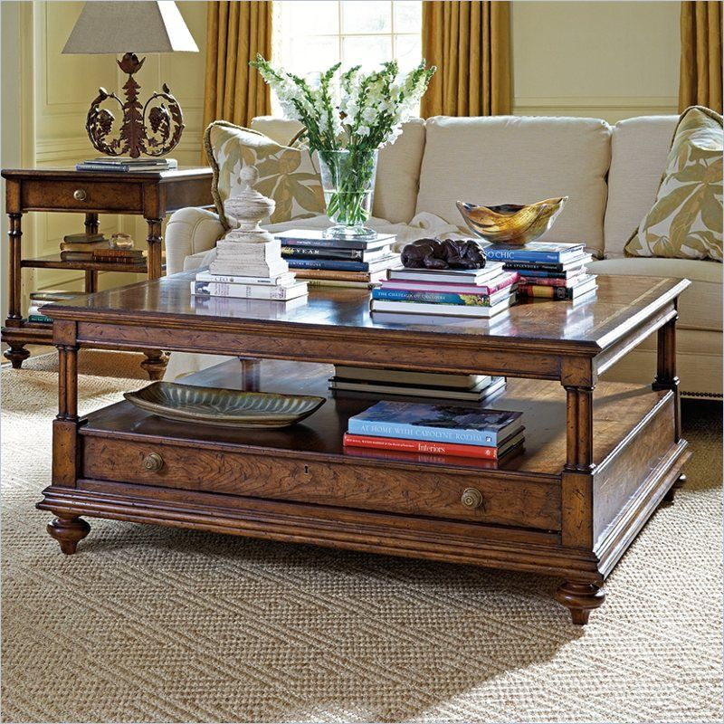 Arrondissement Vivant Tail Table In, Stanley Furniture Coffee Table